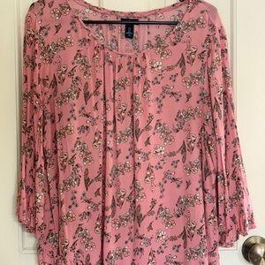 Floral Gap Shirt